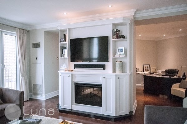Built in TV Wall Unit Toronto
